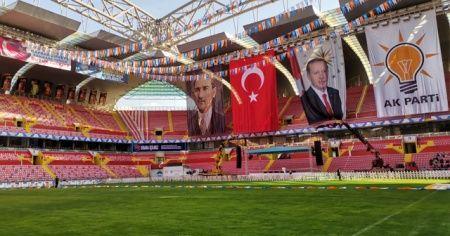Kadir Has Stadı Cumhurbaşkanı Erdoğan'a hazır