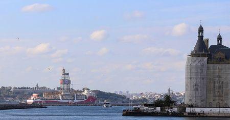 Kanuni sondaj gemisi, Haydarpaşa Limanı'nda