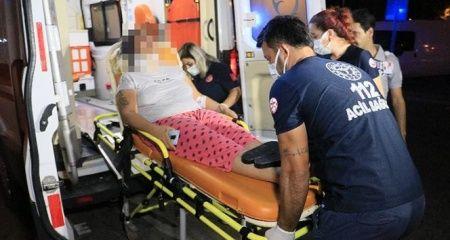Kocası tarafından darp edilen kadın hastanelik oldu!
