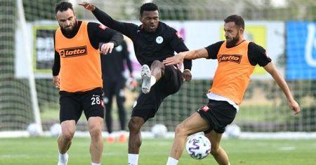 Konyaspor, Gaziantep FK maçı hazırlıklarını sürdürdü