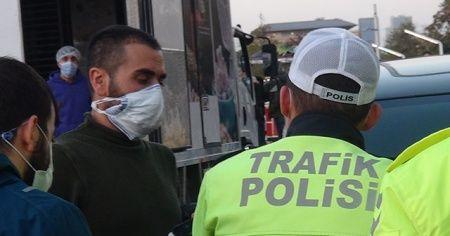 Koronavirüs hastası İstanbul turuna çıktı, polise yakalandı