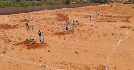 Libya'da 4 toplu mezar daha bulundu
