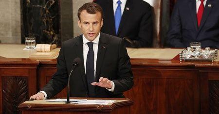 """Macron'dan """"İslami radikalleşme"""" açıklaması"""