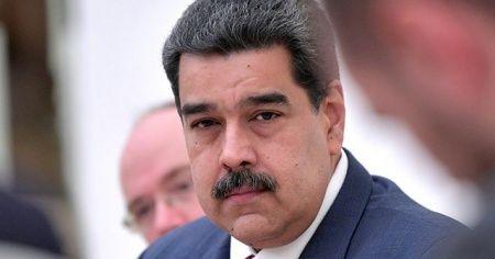 Maduro'dan Cumhurbaşkanı Erdoğan'a teşekkür