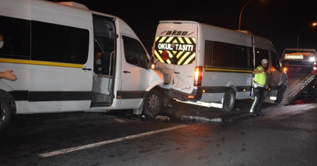 Malatya'da zincirleme kaza: 9 yaralı