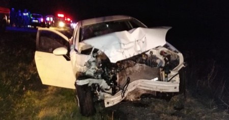 Manyas'ta feci kaza: 1 ölü, 2 yaralı