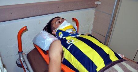 Milli atlet İbrahim Karateker'e otomobil çarptı