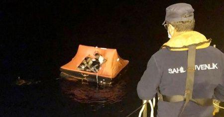 Can salında ölümü beklerken Türk Sahil Güvenlik kurtardı