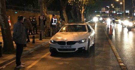 Plakasız otomobilin sürücüsü: Yasak olduğunu bilmiyordum