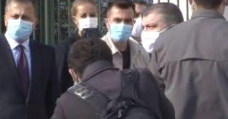 Sağlık Bakanı Fahrettin Koca, İstanbul Valiliği'nde!