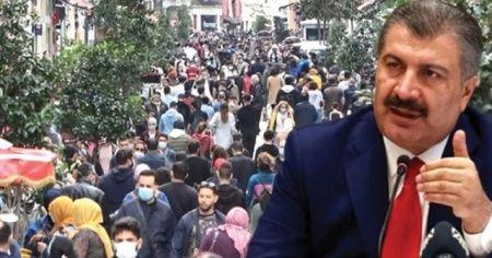 Sağlık Bakanı Koca'dan 'Taksim' paylaşımı