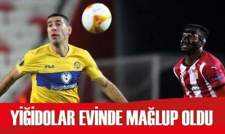Sivasspor evinde Maccabi Tel Aviv'e mağlup oldu