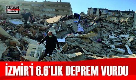 Son Dakika! İzmir'de deprem! İstanbul'da da hissedildi ! Son depremler