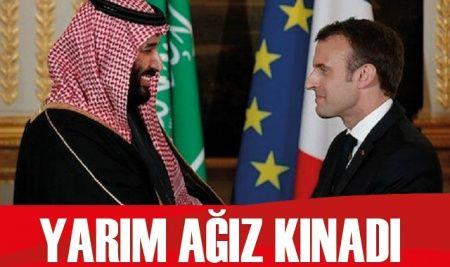 Suudi Arabistan yarım ağız kınadı
