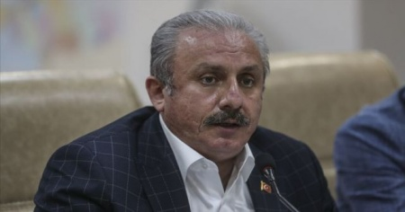 TBMM Başkanı Mustafa Şentop'tan İzmir depremi açıklaması