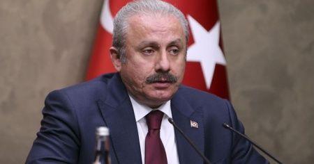 TBMM Başkanı Şentop'tan, vefat eden Osman Durmuş için taziye mesajı