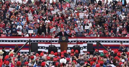 Trump'tan Pennsylvania'da 3 ayrı miting