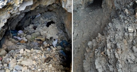 Tunceli'de teröristlerin kullandığı 1 mağara ve 1 sığınak imha edildi