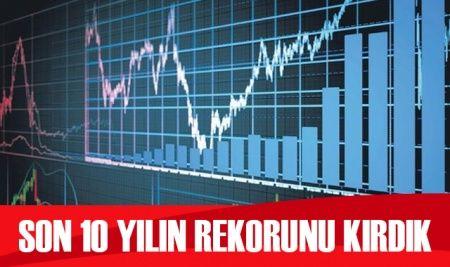 Türkiye için önemli gelişme: Son 10 yılın rekorunu kırdık
