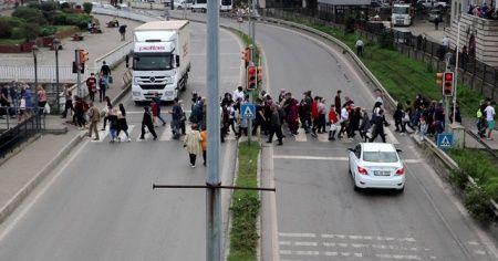 Zonguldak'ta korkutan manzaralar