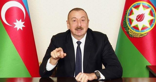 Aliyev: Ermeni faşizmini yok ettik