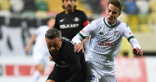Bursaspor bu sezon deplasmanda 13 puan kaybetti