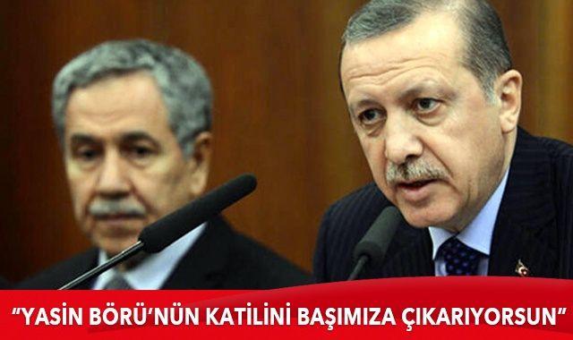 Cumhurbaşkanı Erdoğan'dan Arınç'a sert tepki