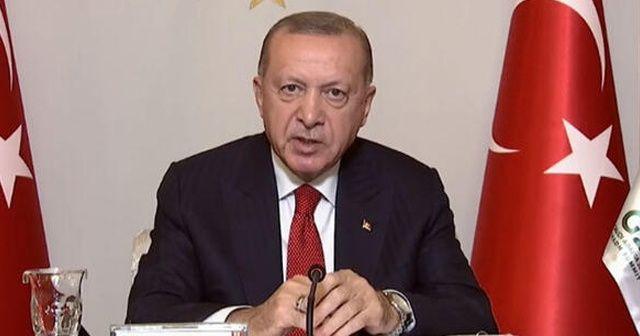 Cumhurbaşkanı Erdoğan G20 Zirvesi'nde açıklamalarda bulundu