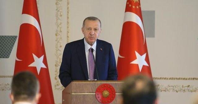 Cumhurbaşkanı Erdoğan: Geçtiğimiz 18 yılda ülkemizi demokrasi ve kalkınma temelli politikalarla geliştirdik