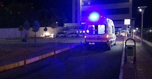 Diyarbakır'da 'dur' ihtarına uymayan otomobil polis memuruna çarpıp kaçtı