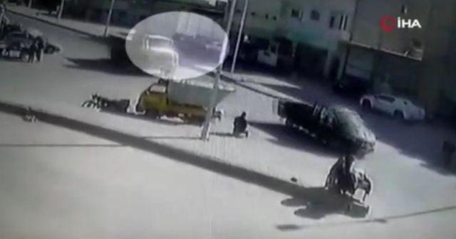 El Bab'daki bombalı saldırının görüntüleri