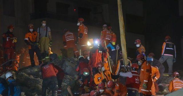 Enkaz altından 1 kişi daha kurtarıldı
