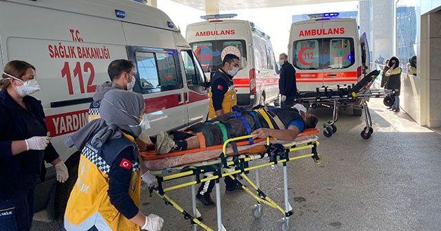 """Hasta sedyesinde, kaza yaptığı arkadaşını sordu: """"Durumunu söyleyin Allah aşkına"""""""