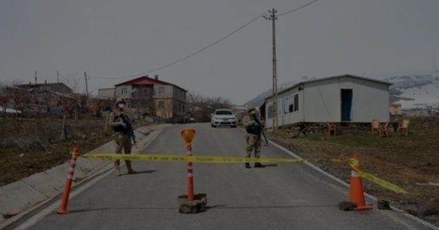 Hatay'da 7 ev karantinaya alındı