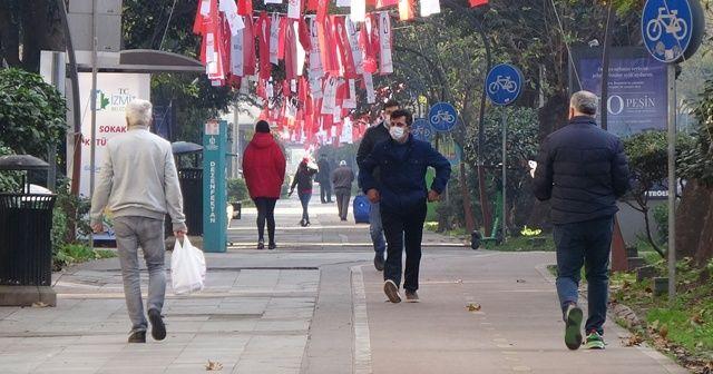 Kısıtlama biter bitmez Kocaeli halkı kendini sokağa attı