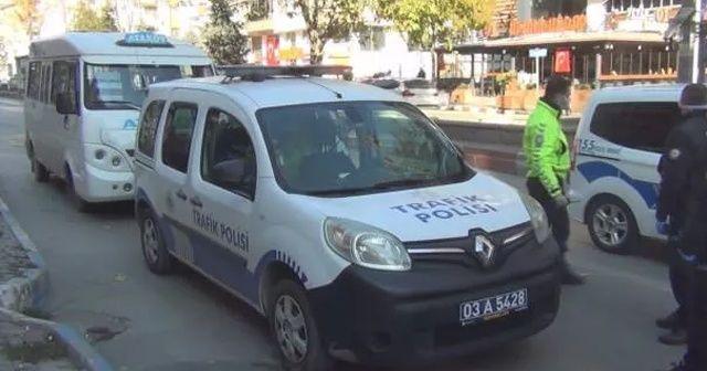 Koronalı şoför, direksiyon başında yakalandı