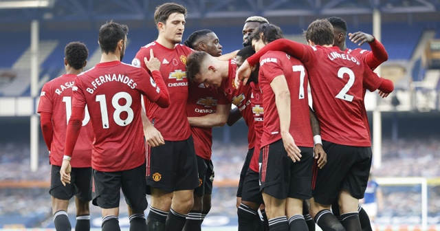 Manchester United, deplasmanda Everton'ı yendi