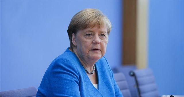 Merkel: Salgından ders alma ve ekonomiyi daha sürdürülebilir hale getirme isteği var