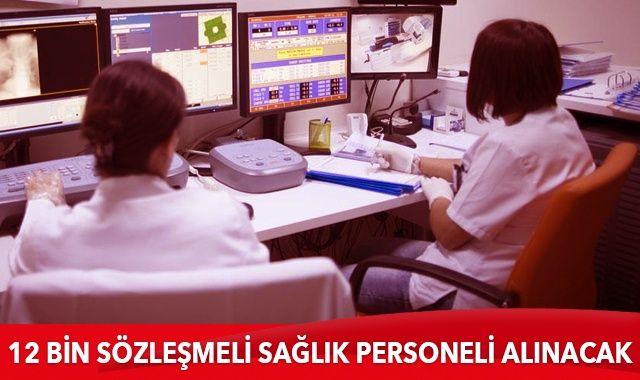 Bakanlık açıkladı! 12 bin sözleşmeli sağlık personeli alınacak
