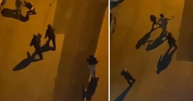 Sokak ortasında iki kadını darp etti, tokat sesleri sokaklarda yankılandı
