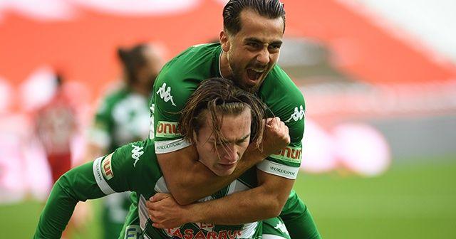 Transfer yapamayan Bursaspor daha çok gol atıyor