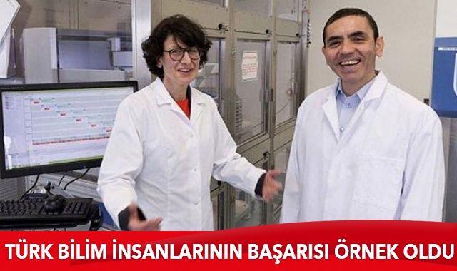 Türk bilim insanlarının başarısı örnek oldu
