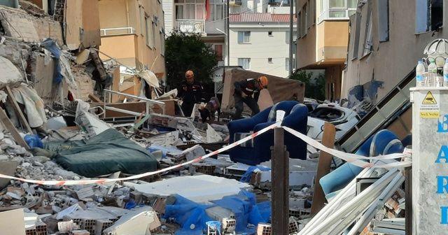 Yan yatan 3 binadaki 7 cansız bedenin yerini hassas burunlu 'Pelte'  belirledi