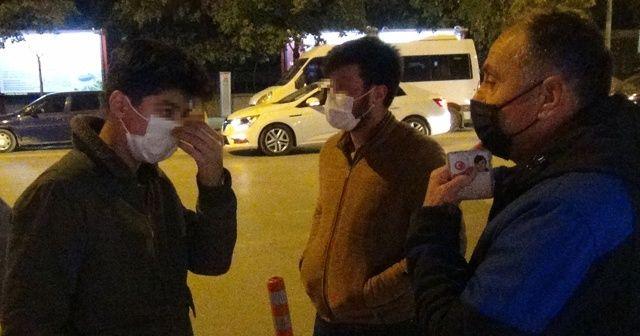 Yasak yerde sigara içen gencin savunması şaşırttı