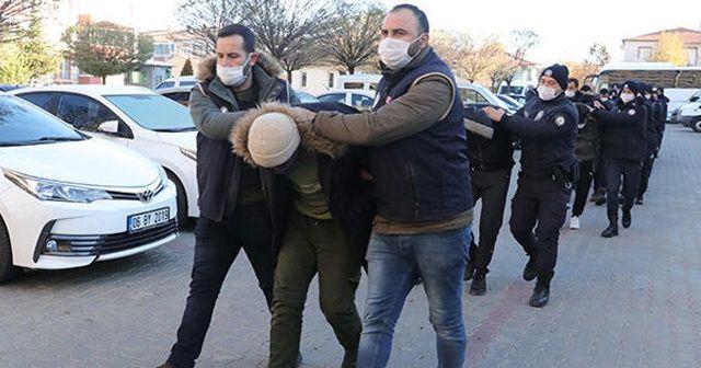 Yozgat'ta DEAŞ operasyonunda 22 zanlı yakalandı