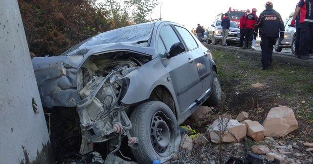 Zonguldak'ta feci kaza: 1'i bebek 2 ölü, 2 yaralı