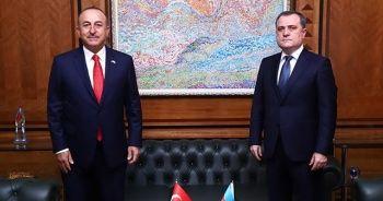 Azebaycan Dışişleri Bakanı Bayramov, Mevlüt Çavuşoğlu ve Türkiye'ye teşekkür etti