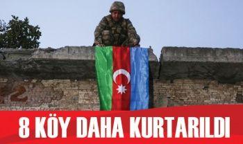Azerbaycan, 8 köyü daha Ermenistan'ın işgalinden kurtardı