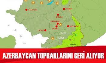 Azerbaycan topraklarını geri alıyor