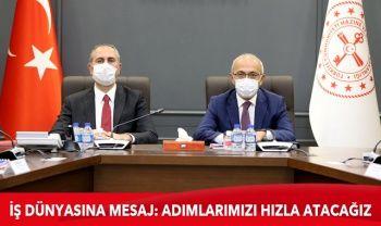 Bakan Elvan: Adalet Bakanımız Abdulhamit Gül ile bir araya geldik